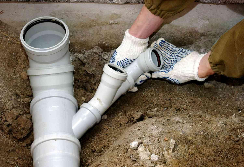 сборка канализации
